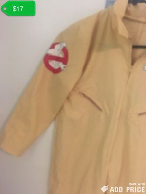 Kids ghostbusters zip up jumpsuit with zipper front pockets for Sale in Houston, TX
