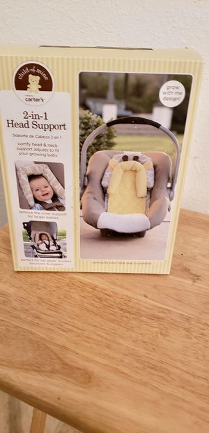 Car seat head support for Sale in San Antonio, TX