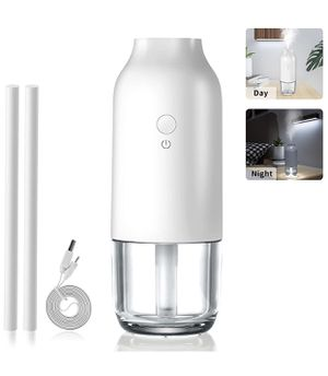 USB Portable Mini Humidifiers with Night Light & Water Tank, Great Cool Mist Air Diffuser with Adjustable Mist Modes, Perfect for Bedroom Office Car for Sale in North Bergen, NJ