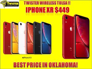 IPHONE 🔥🔥XR 🔥🔥 $449 only ! HUGE TAX SEASON SALE !! for Sale in Tulsa, OK
