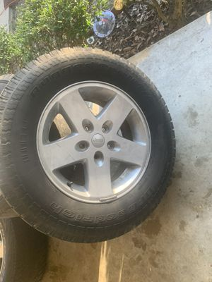 17 in Jeep wheels for Sale in Booneville, MS