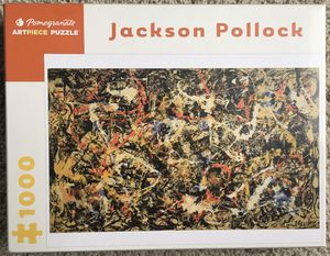 Pomegranate Art piece Puzzle Jackson Pollock Convergence 1000 pieces puzzle for Sale in Fairview, OR