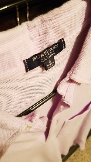 Burberry mens Polo size small for Sale in TX, US