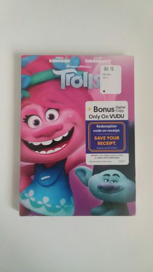 Dreamworks Trolls Movie DVD for Sale in National City, CA