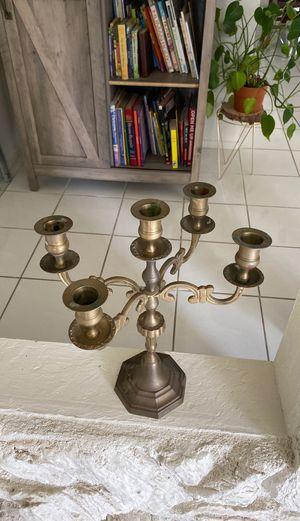 Brass candelabra for Sale in Hesperia, CA