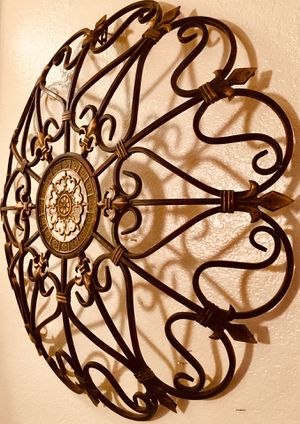 Wrought iron wall decorative art W32 x D4 inch for Sale in Chandler, AZ