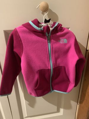 North face Zip-Up Hoodie Jacket-18-24mos for Sale in Braintree, MA