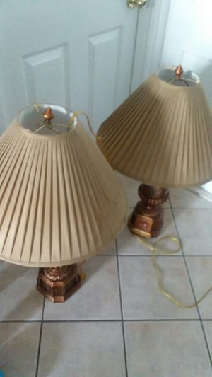 Two lamps for Sale in Hyattsville, MD