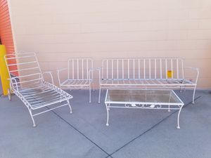 Vintage mid-century outdoor furniture for Sale in Huntington Beach, CA
