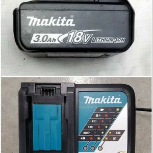 Makita 18V 3.0Ah Battery & Rapid Charge Battery Charger for Sale in Federal Way, WA