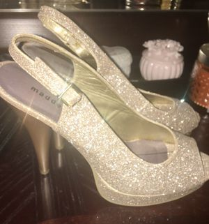 Sparkly Gold Steve heels for Sale in Bolingbrook, IL
