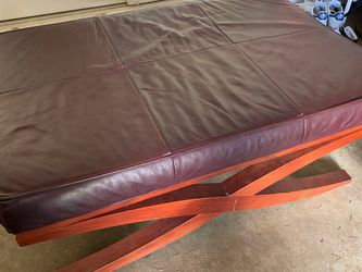 Leather Futon for Sale in Bellevue,  WA