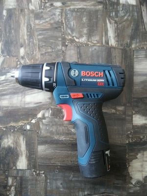 Bosch 12 volt drill driver one battery i don't have a charger for Sale in Garner, NC