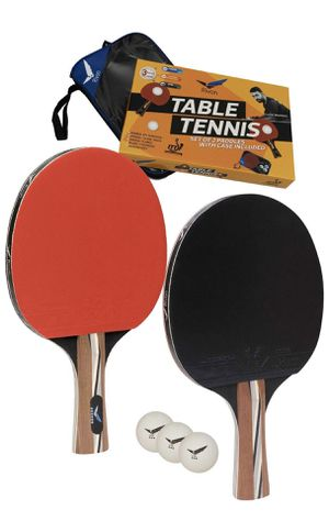 Ping Pong Racket Set - 2 Paddles with 3 Balls and Travel Case - BRAND NEW for Sale in San Diego, CA
