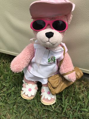 Teddy Bear Pink Come with Everything in photo for Sale in Fort Myers, FL