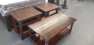 3 pc coffee tables for Sale in North Las Vegas, NV