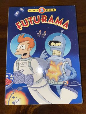 Futurama Vol 3 Missing 1 disk 3/4 Great Condition No Scratches for Sale in San Fernando, CA