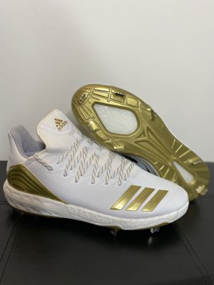Adidas boost icon 4 gold baseball cleats for Sale in Brook Park, OH