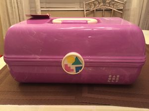Caboodles on the go girl purple marble vintage case for Sale in Norwalk, CA