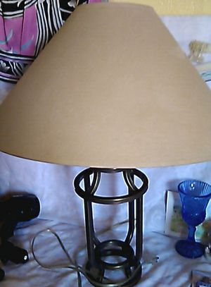 Lamp $4 shade $2 for Sale in Yucaipa, CA