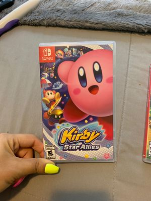 Nintendo Switch Kirby Star Allies for Sale in Jurupa Valley, CA