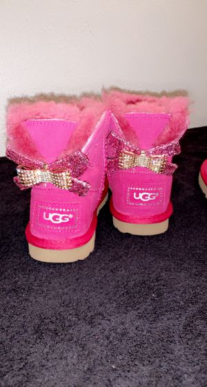 Children's Bailey Bow Ugg Boots for Sale in Rockford, IL