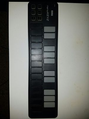 Korg nano key usb keyboard. for Sale in Tarentum, PA