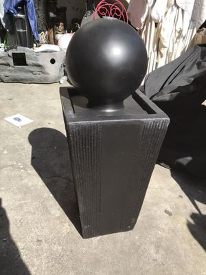Water fountain sphere for Sale in Bell Gardens, CA