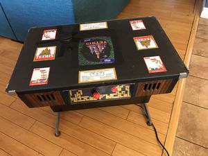 Original Tetris Atari Games 1987 arcade cocktail table cabinet - rare for Sale in North Hollywood, CA