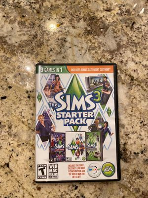 Sims 3 disc for Sale in Tracy, CA