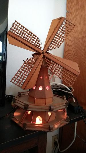 Vintage wooden windmill lamp for Sale in Norco, CA