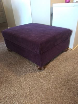 Storage ottoman furniture new upholstery for Sale in West Valley City, UT
