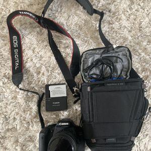 Canon EOS T3i Rebel 18-55MM Lens for Sale in Sloan, NV
