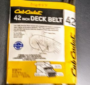 New belts for Cub cadet lawn tractor for Sale in Bogue, NC