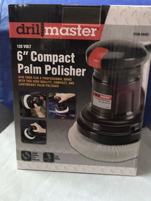"""Drill Master 6"""" Compact Palm Polisher for Sale in Virginia Beach, VA"""