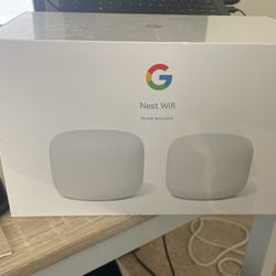 Google nest Wi-FI Mesh router 2 Pack (AC2200) for Sale in Irvine,  CA