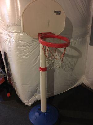 Kids plastic basketball hoop for Sale in Oswego, IL