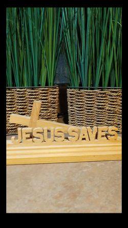 Jesus Saves Wooden Decoration for Sale in Surprise,  AZ