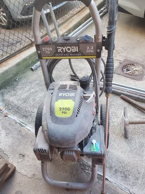 Ryobi 2700psi pressure washer for Sale in Queens, NY
