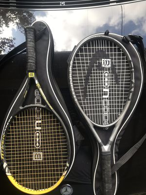 Two Tennis Rackets. for Sale in West Hollywood, CA