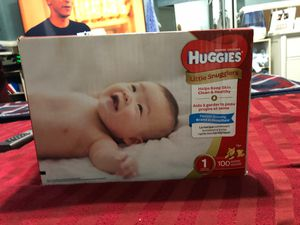 Huggies diapers size 1 for Sale in Las Vegas, NV