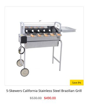 Authentic Brazilian BBQ Grill (Charcoal) for Sale in Miami, FL