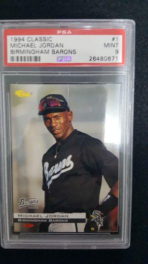 Graded Jordan Baseball card for Sale in Woodway, WA
