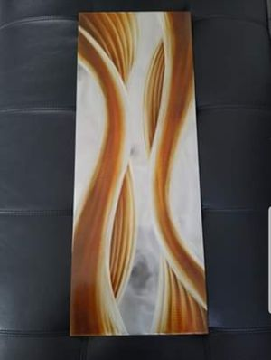 Caramel Desire Contemporary Metal Wall Art Decor for Sale in Middle River, MD