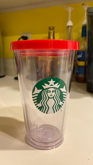 Starbucks Plastic Tumbler for Sale in Kent, WA