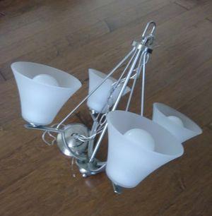 4 light chandelier for Sale in Dulles, VA