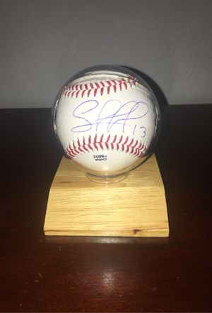 Salvador Perez personally signed baseball with display case. for Sale in FL, US