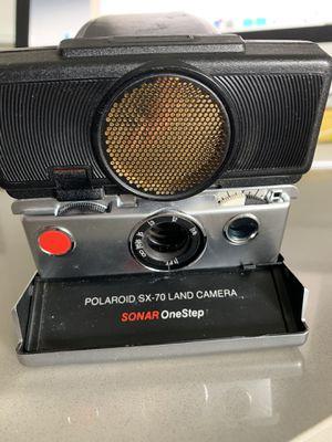 Vintage Polaroid SX-70 Land Camera Sonar OneStep for Sale in Elgin, IL