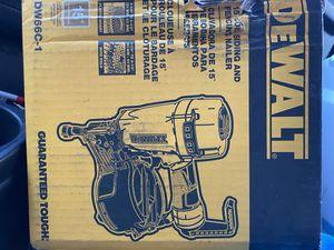 Dewalt Nail gun NEW for Sale in Brooklyn Park, MD