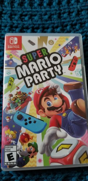Super mario party for Sale in Dallas, TX